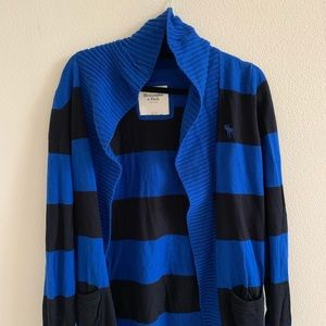 Abercrombie and Fitch Striped Cardigan